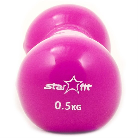 Starfit DB-102 0,5 КГ Гантель виниловая - фото 159866