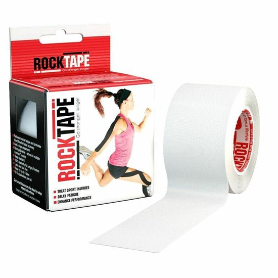 RockTape CLASSIC 5смх5м Кинезиотейп Белый - фото 160105