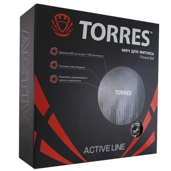 Torres AL100185 Мяч гимнастический 85 см - фото 160307