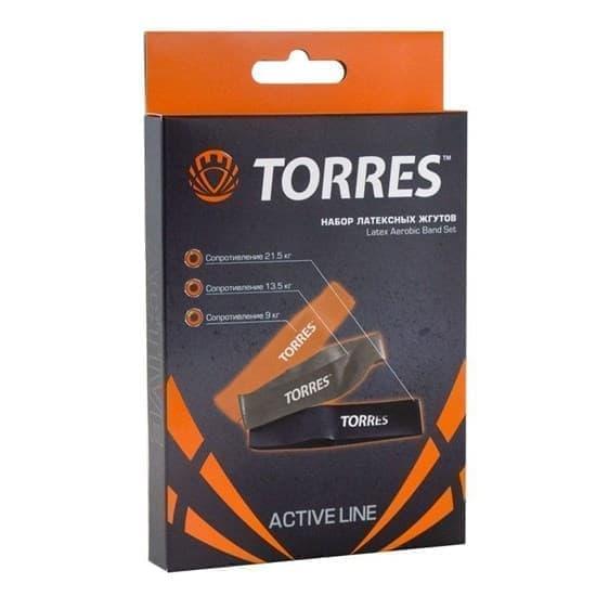 Torres AL0033 Эспандер набор латексных жгутов - фото 160435
