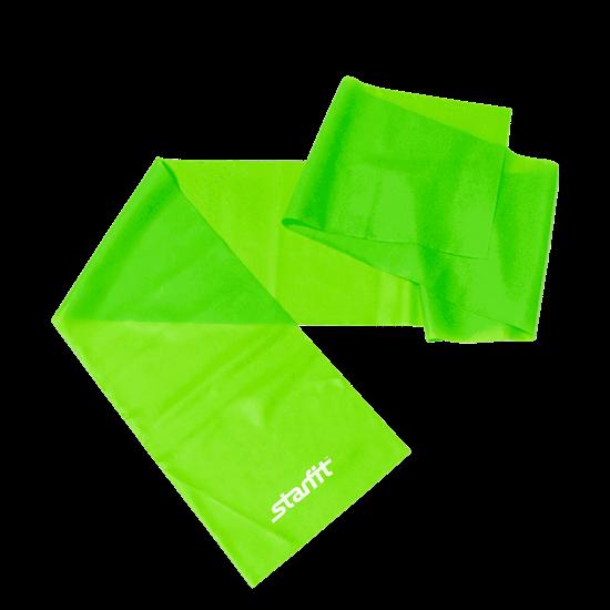 Starfit ES-201 Эспандер ленточный для йоги Зеленый - фото 160497