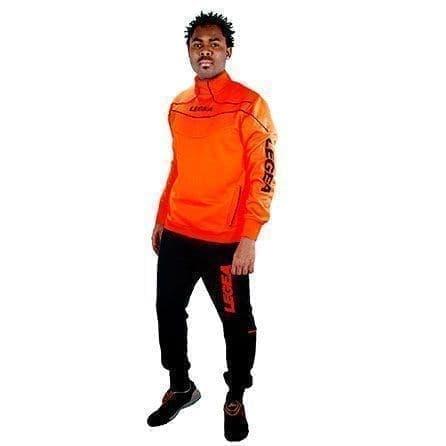 Legea TUONO NIGERIA Костюм спортивный Оранжевый/Черный - фото 160639