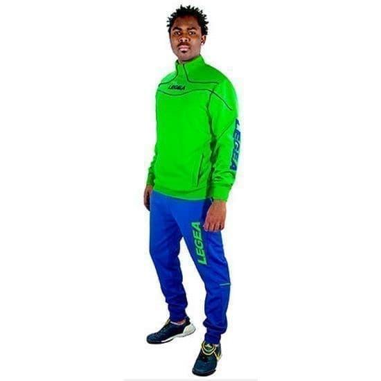 Legea TUONO NIGERIA Костюм спортивный Зеленый/Синий - фото 160645