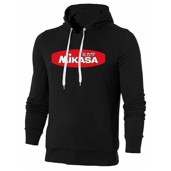 Mikasa MAN Толстовка с капюшоном Черный/Красный - фото 161036