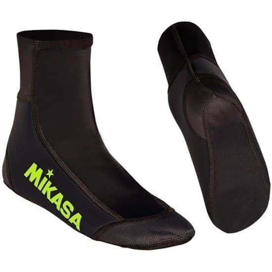 Mikasa WELSY Носки для пляжного волейбола Черный/Зеленый - фото 161083