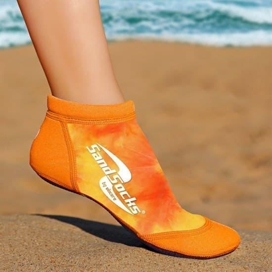 Vincere SPRITES SAND SOCKS ORANGE SUNSET Носки для пляжного волейбола Оранжевый - фото 161109