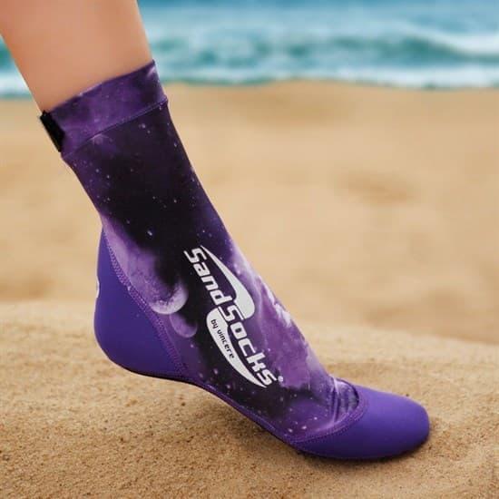 Vincere SAND SOCKS PURPLE GALAXY Носки для пляжного волейбола Фиолетовый - фото 161118