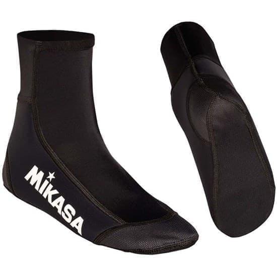Mikasa WELSY Носки для пляжного волейбола Черный/Белый - фото 161151