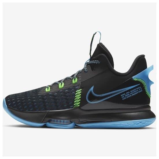Nike LEBRON WITNESS V Кроссовки баскетбольные черн/гол - фото 161265