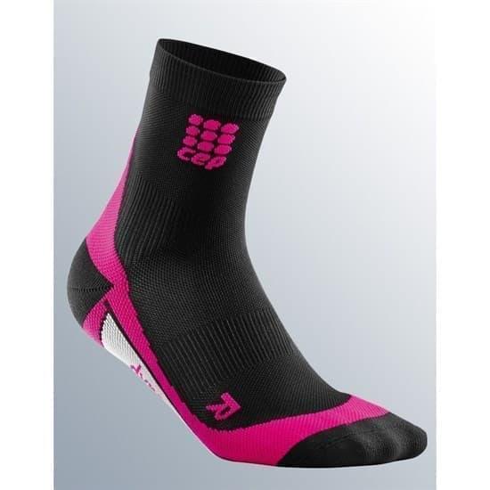 CEP C10W Носки средние женские Черный/Розовый - фото 161363