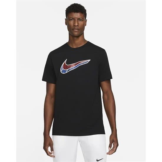 Nike SWOOSH Футболка Черный - фото 161431