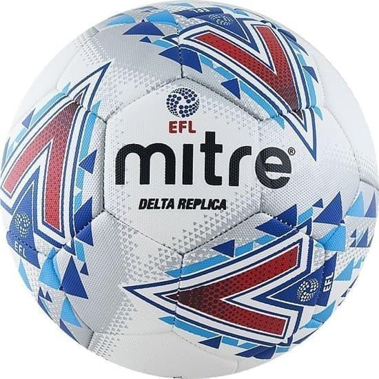 Mitre DELTA REPLICA Мяч футбольный - фото 161437