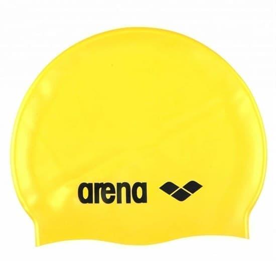 Arena CLASSIC SILICONE Шапочка для плавания Желтый/Черный - фото 161583