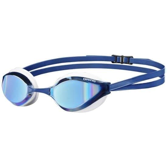 Arena PYTHON MIRROR Очки для плавания Синий/Белый - фото 161596