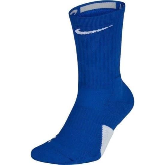 Nike ELITE CREW Носки баскетбол Синий/Белый - фото 161610