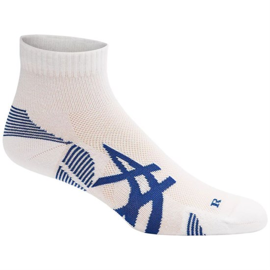 Asics 2PPK CUSHIONING SOCK Носки беговые (2 пары) Белый/Синий - фото 161634