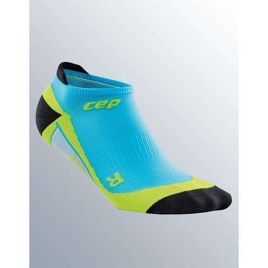 CEP C00M Носки беговые низкие Голубой/Зеленый - фото 162327