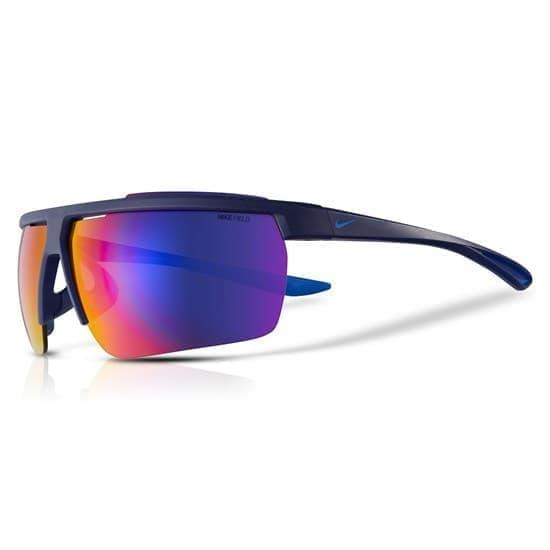 Nike WINDSHIELD E Очки солнцезащитные Черный/Синий - фото 163675