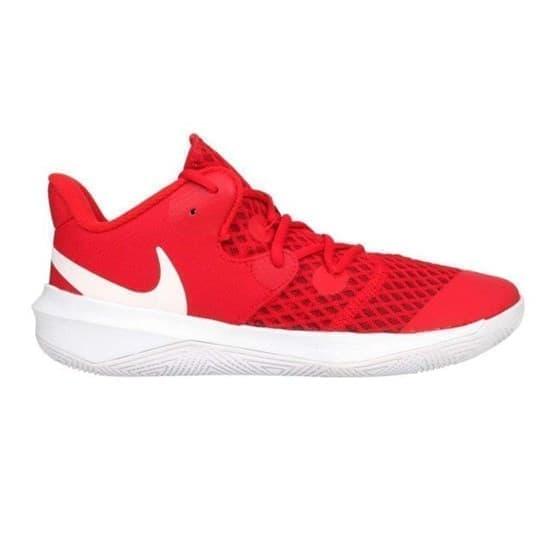Nike ZOOM HYPERSPEED COURT Кроссовки волейбольные Красный/Белый - фото 164327