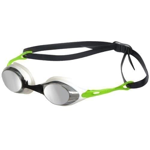 Arena COBRA MIRROR Очки для плавания Белый/Салатовый - фото 165595