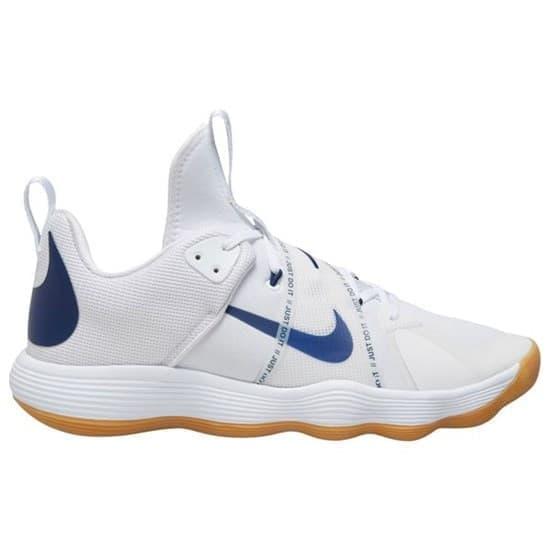Nike REACT HYPERSET Кроссовки волейбольные Белый/Темно-синий - фото 166325