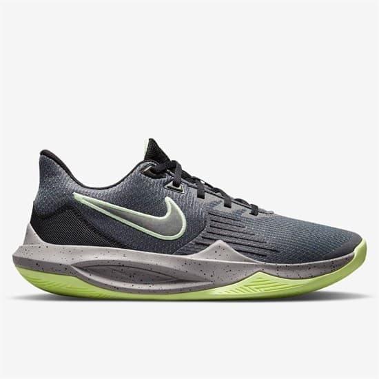 Nike PRECISION 5 Кроссовки баскетбольные Серый/Зеленый - фото 166326