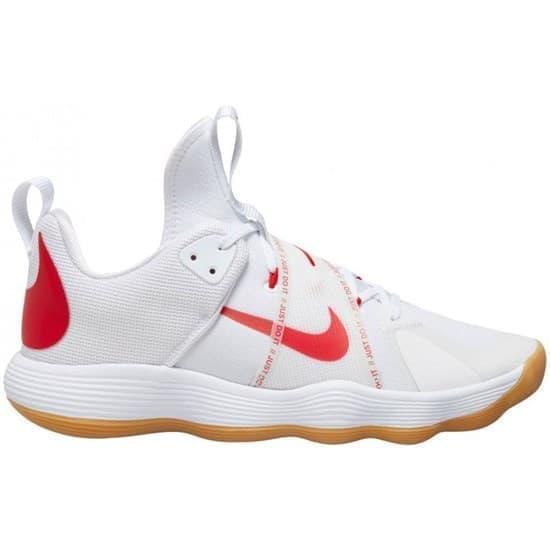 Nike REACT HYPERSET Кроссовки волейбольные Белый/Красный - фото 166327