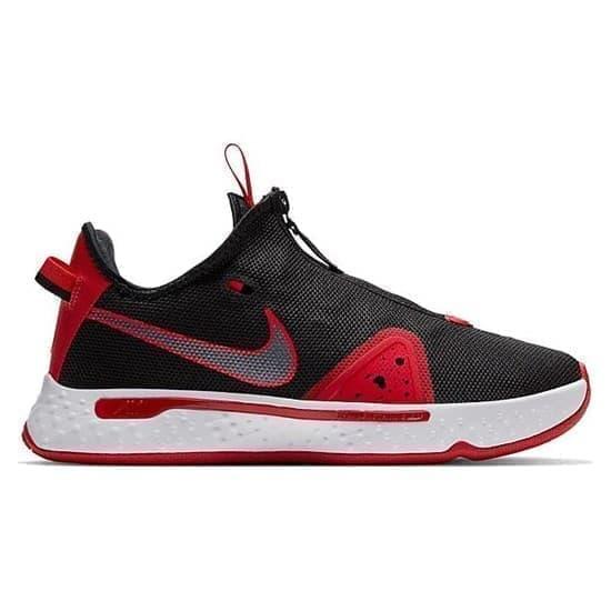 Nike PG 4 Кроссовки баскетбольные Черный/Красный - фото 166331