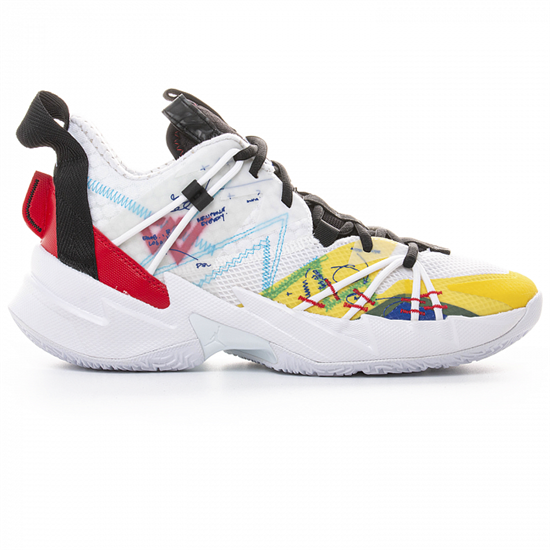 Jordan WHY NOT? ZER0.3 SE Кроссовки баскетбольные Белый/Черный - фото 166335