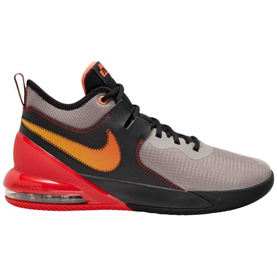 Nike AIR MAX IMPACT Кроссовки баскетбольные Серый/Черный - фото 166341
