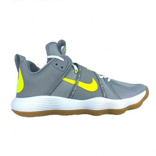 Nike REACT HYPERSET Кроссовки волейбольные Серый/Желтый - фото 166397