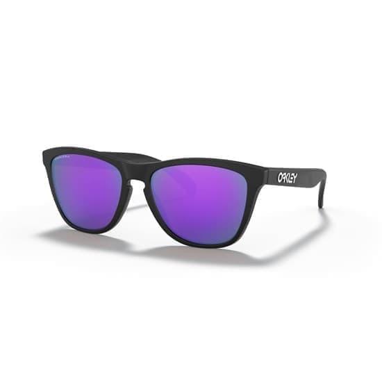 Oakley FROGSKINS Черный матовый/Фиолетовые линзы - фото 166579