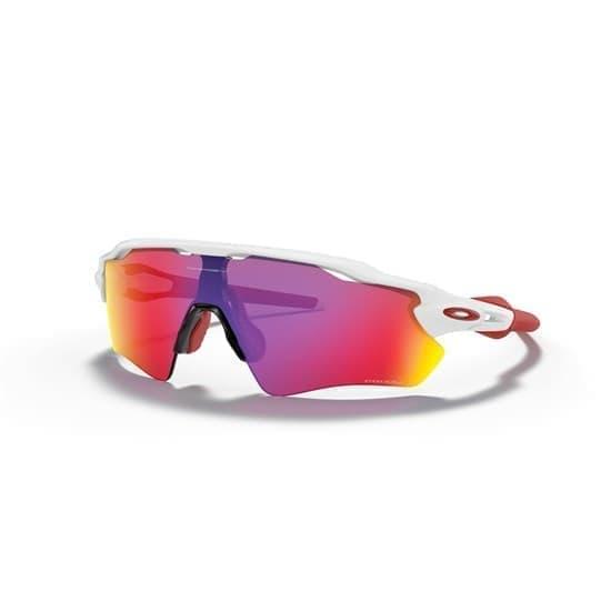 Очки солнцезащитные Oakley RADAR EV PATH Белый матовый/Фиолетово-желтые линзы - фото 166633