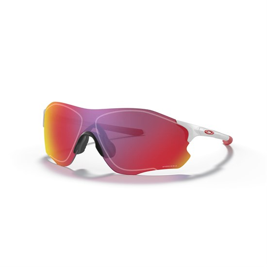 Oakley EVZERO PATH Очки солнцезащитные Белый матовый/Красные линзы - фото 166657