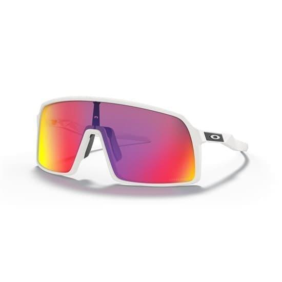 Очки солнцезащитные Oakley SUTRO Белый матовый/Красные линзы - фото 166681