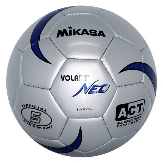Mikasa SVN50-BSL Мяч футбольный - фото 166816