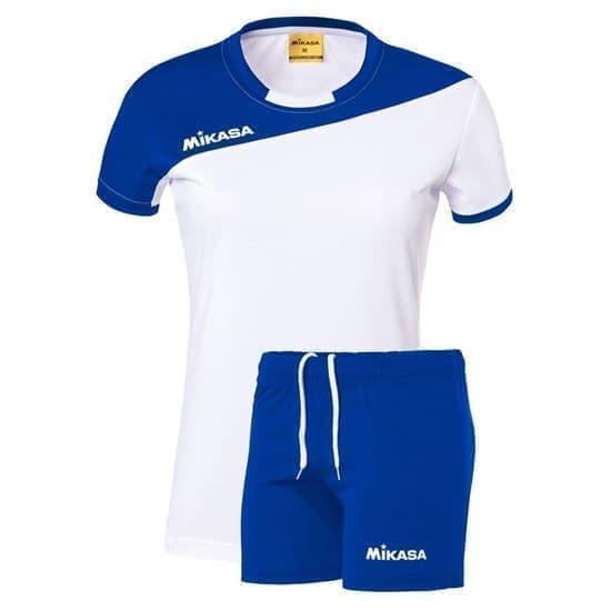 Mikasa MOACH Форма волейбольная женская Белый/Синий - фото 167262