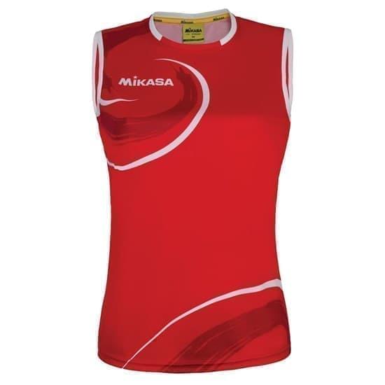 Mikasa TAGUN Майка волейбольная женская Красный/Белый - фото 167289