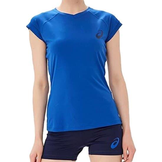 Asics AEG VOLLEY SET (W) Форма волейбольная женская Синий/Темно-синий - фото 167480