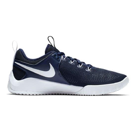 Nike HYPERACE 2 Кроссовки волейбольные Темно-синий/Белый - фото 168008