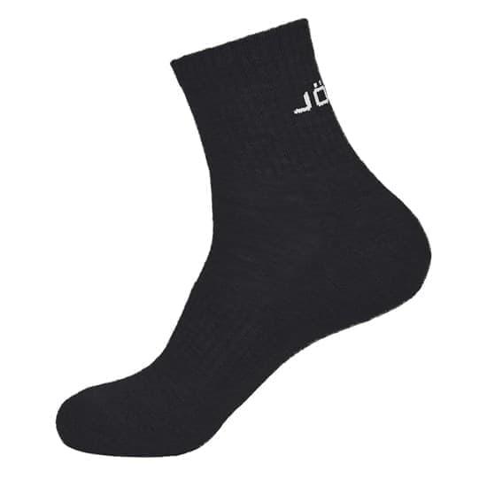 Jogel ESSENTIAL MID CUSHIONED SOCKS Носки высокие (2 пары) Черный/Белый - фото 168520