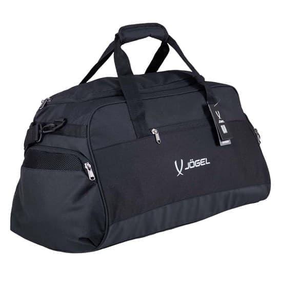 Jogel DIVISION SMALL BAG Сумка спортивная Черный/Белый - фото 168594
