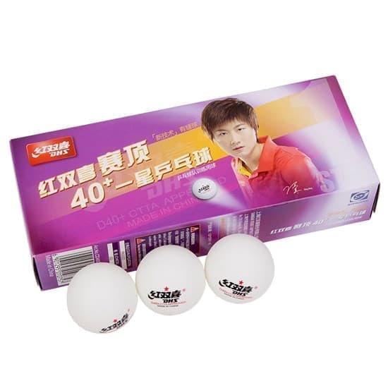 DHS 1* (CD40C) Мячи для настольного тенниса (10 шт) - фото 169693