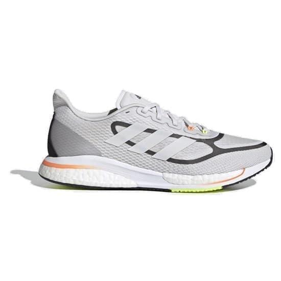 Adidas SUPERNOVA+ Кроссовки беговые Серый/Черный - фото 170124