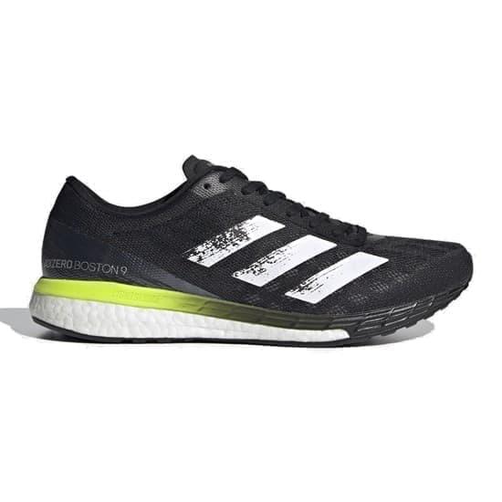 Adidas ADIZERO BOSTON 9 Кроссовки беговые Черный/Белый - фото 170214