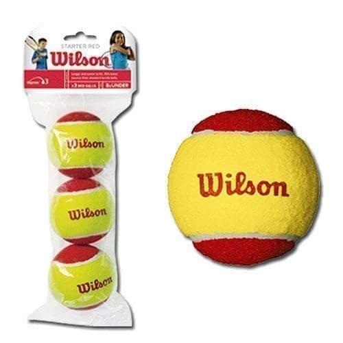 Wilson STARTER RED (WRT137001) Мячи для большого тенниса (3 шт) - фото 172755