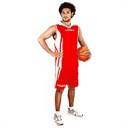 Legea KIT BASKET JACKSON Форма баскетбольная Красный/Белый
