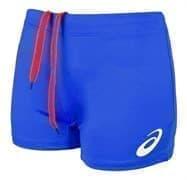Asics RUSSIA SHORT (W) Шорты игровые волейбольные женские Синий/Красный
