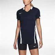 Nike ACE S/S GAME JERSEY Футболка волейбольная женская Темно-синий/Белый