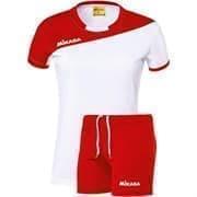 Mikasa MOACH Форма волейбольная женская Белый/Красный